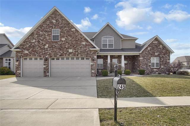 245 Oakshire Drive, Glen Carbon, IL 62034 (#21014169) :: Fusion Realty, LLC