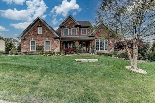 17938 Homestead Bluffs Drive, Wildwood, MO 63005 (#21018561) :: Parson Realty Group