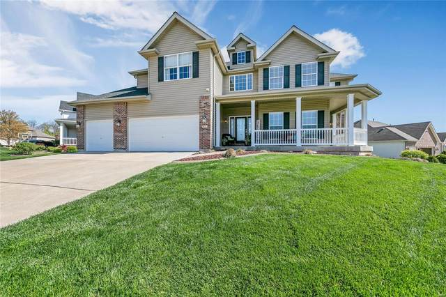 409 Highland Meadows Place, Wentzville, MO 63385 (#21022634) :: Parson Realty Group