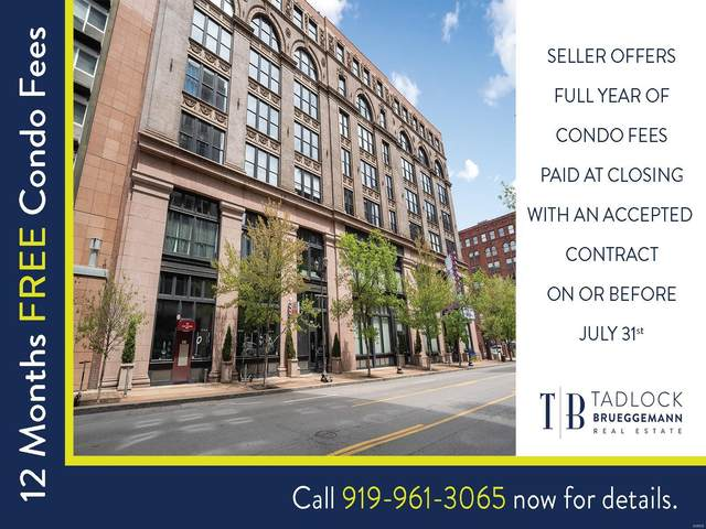1113 Washington Avenue #703, St Louis, MO 63101 (#21025201) :: The Becky O'Neill Power Home Selling Team