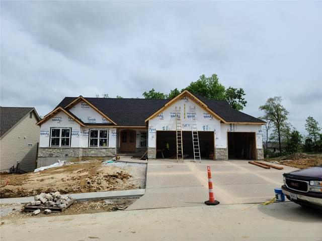 513 Stonewolf Creek Drive, Wentzville, MO 63385 (#21026173) :: Parson Realty Group