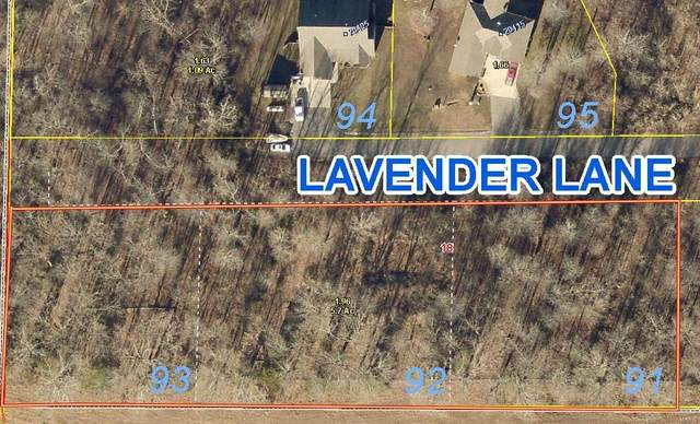 0 Lots 92 & 93 - Lavender Ln, Saint Robert, MO 65583 (#21026209) :: Matt Smith Real Estate Group