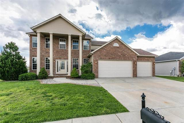 416 Chadwyck Drive, Glen Carbon, IL 62034 (#21026757) :: Blasingame Group | Keller Williams Marquee