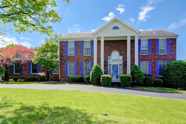 12596 Durbin Drive, Town and Country, MO 63141 (#21027060) :: Parson Realty Group