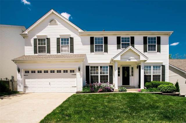 161 Birchwood Trail Drive, Maryland Heights, MO 63043 (#21027510) :: Parson Realty Group