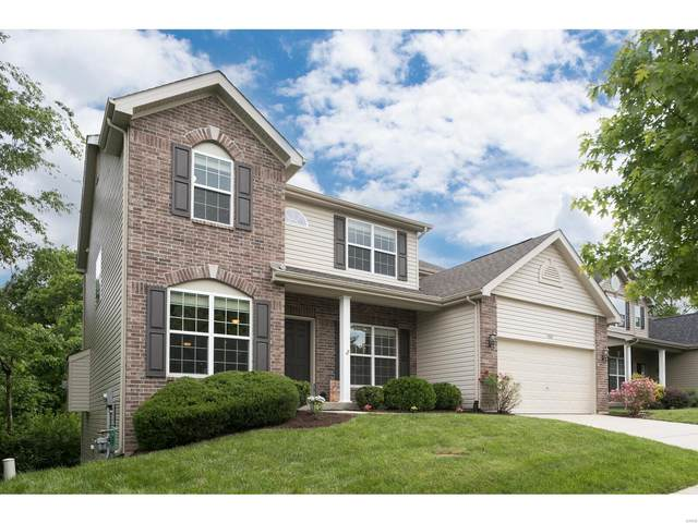 15341 Broeker Place Drive, Chesterfield, MO 63017 (#21027965) :: Parson Realty Group