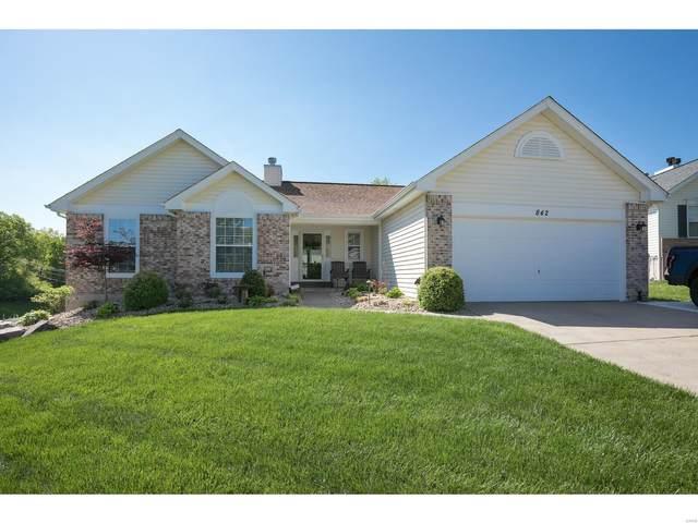 842 Emerald Oaks, Eureka, MO 63025 (#21028282) :: Reconnect Real Estate
