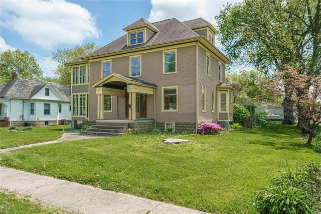206 E Pennsylvania, STAUNTON, IL 62088 (#21029073) :: Tarrant & Harman Real Estate and Auction Co.
