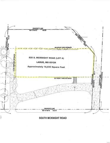 820 S Mcknight (Lot A / West Lot) Road, Ladue, MO 63124 (#21029082) :: Kelly Hager Group | TdD Premier Real Estate