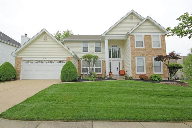 249 Dejournet Drive, Chesterfield, MO 63005 (#21030174) :: Parson Realty Group