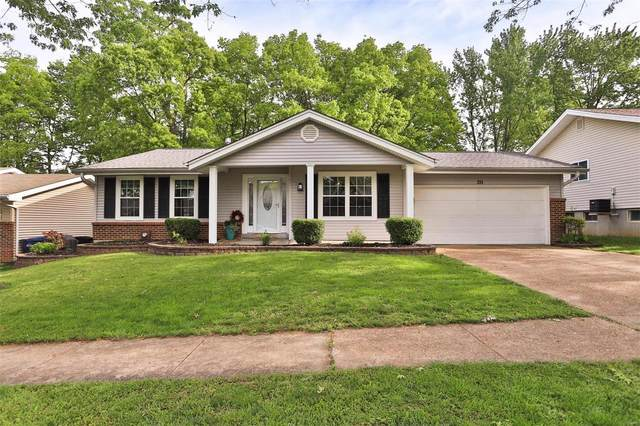 211 Shadyoak Drive, Ballwin, MO 63021 (#21030282) :: Parson Realty Group