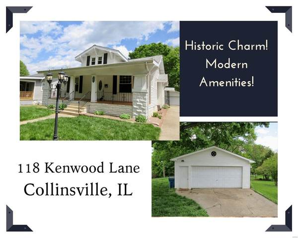 118 Kenwood Lane, Collinsville, IL 62234 (#21030449) :: Tarrant & Harman Real Estate and Auction Co.