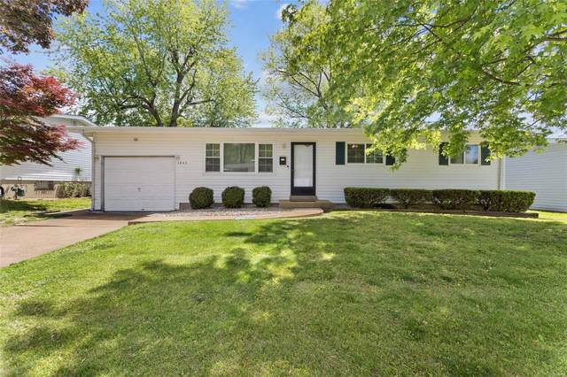 1240 Bobolink Drive, Florissant, MO 63031 (#21031354) :: Parson Realty Group