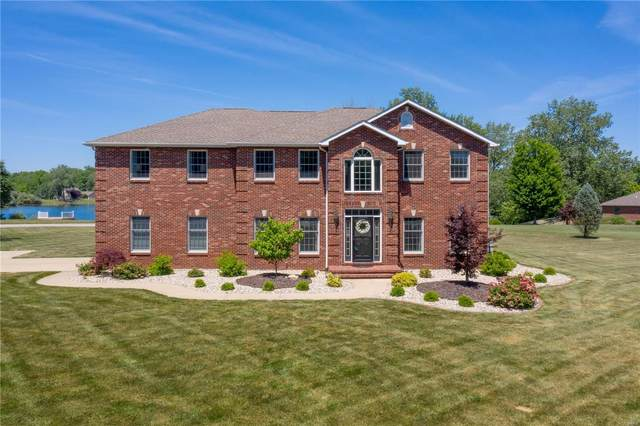 334 Spring Lake Road, Millstadt, IL 62260 (#21035123) :: Parson Realty Group
