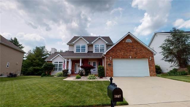 1607 S Coles Court, Edwardsville, IL 62025 (#21036689) :: Fusion Realty, LLC