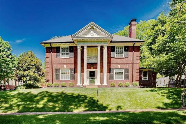828 Audubon Drive, Clayton, MO 63105 (#21038091) :: Century 21 Advantage