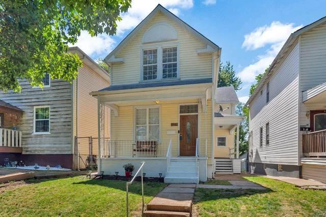 5516 Dewey Avenue, St Louis, MO 63116 (#21038483) :: Krista Hartmann Home Team