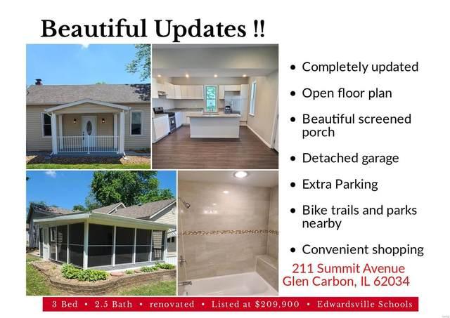 211 Summit Avenue, Glen Carbon, IL 62034 (#21039362) :: Hartmann Realtors Inc.