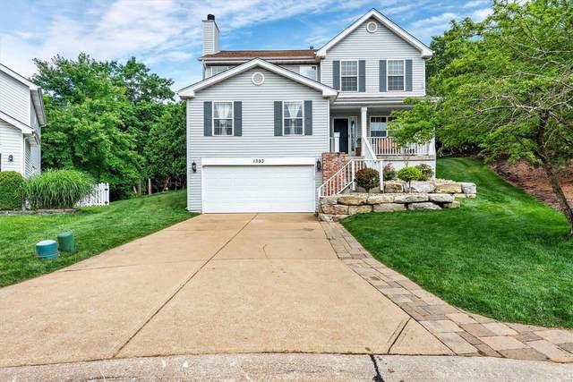 1393 Hunters Hollow, Eureka, MO 63025 (#21040157) :: The Becky O'Neill Power Home Selling Team