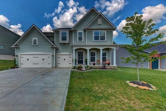 230 Carlton Point, Wentzville, MO 63385 (#21040618) :: Jeremy Schneider Real Estate