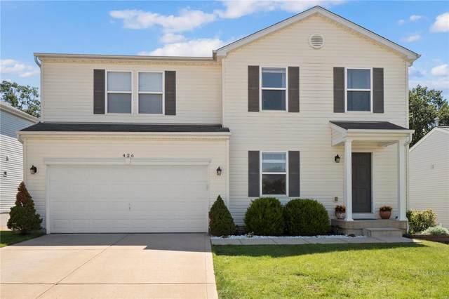 426 Red Coat Trail, Wentzville, MO 63385 (#21040987) :: Jeremy Schneider Real Estate