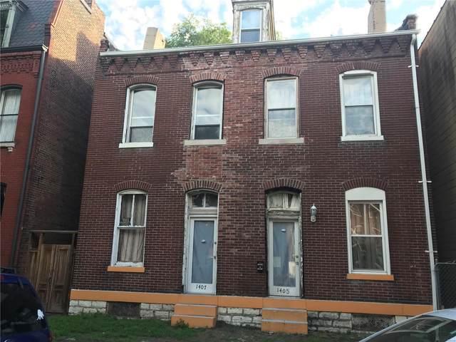 1405 Hebert #7, St Louis, MO 63107 (#21041896) :: Kelly Hager Group | TdD Premier Real Estate