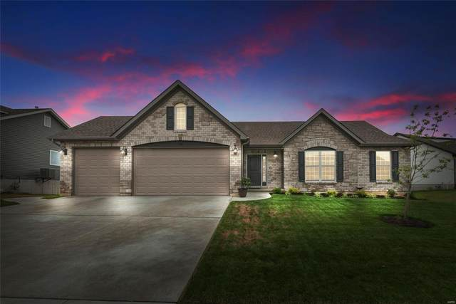 616 Lubbuck Court, Moscow Mills, MO 63362 (#21043127) :: Parson Realty Group
