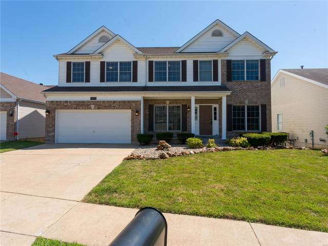 5352 Timberline Place Drive, St Louis, MO 63128 (#21043851) :: Parson Realty Group