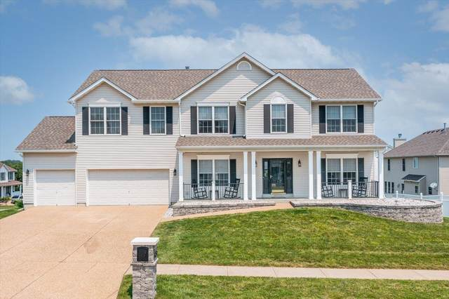 1452 Devonshire County Drive, Wentzville, MO 63385 (#21044041) :: Parson Realty Group