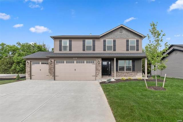 223 Huntleigh Parkway, Wentzville, MO 63385 (#21046756) :: Parson Realty Group