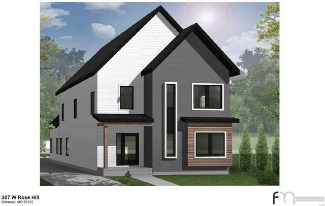 307 W Rose Hill Avenue, Kirkwood, MO 63122 (#21049954) :: Clarity Street Realty