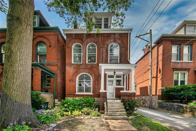 4256 Shenandoah Avenue, St Louis, MO 63110 (#21050770) :: Parson Realty Group