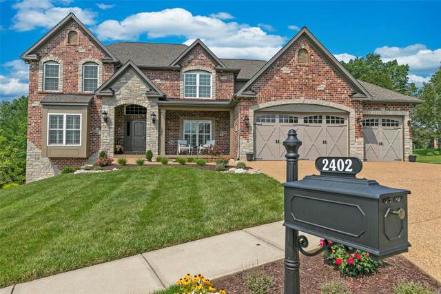 2402 Christopher View Drive, St Louis, MO 63129 (#21051483) :: Parson Realty Group