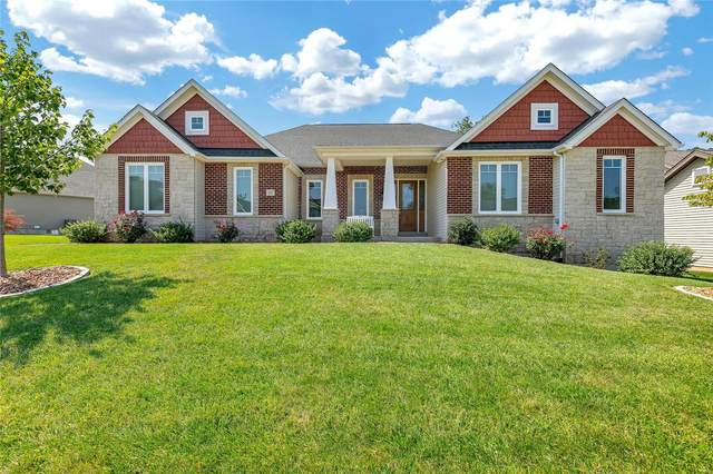 117 Woodspur Drive, Wentzville, MO 63385 (#21052338) :: Kelly Hager Group   TdD Premier Real Estate