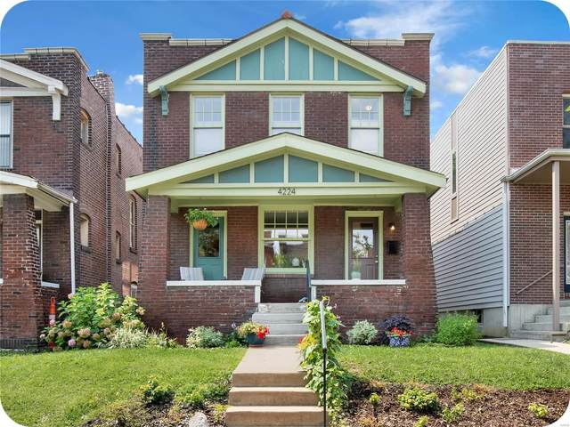 4224 Mcree Avenue, St Louis, MO 63110 (#21052907) :: Kelly Hager Group | TdD Premier Real Estate