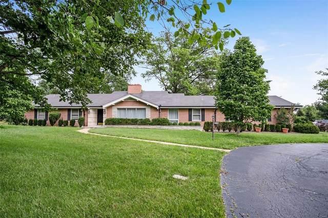 10085 Litzsinger Road, Ladue, MO 63124 (#21054476) :: Realty Executives, Fort Leonard Wood LLC