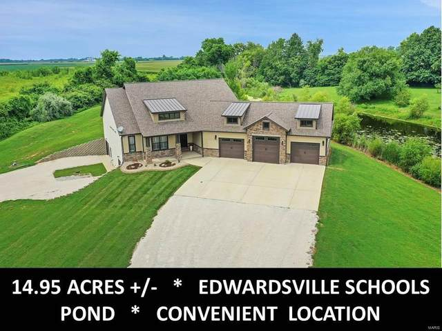 9 Stonehill Ct., Edwardsville, IL 62025 (#21054491) :: Hartmann Realtors Inc.