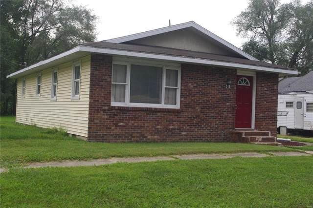519 S Franklin, Salem, IL 62881 (#21055956) :: The Becky O'Neill Power Home Selling Team