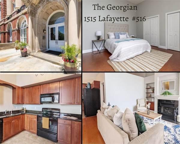 1515 Lafayette Avenue #516, St Louis, MO 63104 (#21056758) :: Friend Real Estate