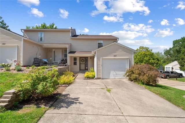 147 Cascade Terrace Drive, Ballwin, MO 63021 (#21058911) :: Friend Real Estate