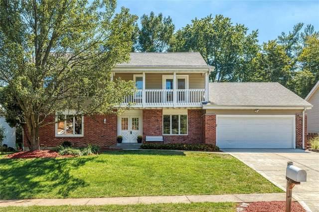 1718 Carman Valley Drive, Ballwin, MO 63021 (#21059481) :: Jenna Davis Homes LLC