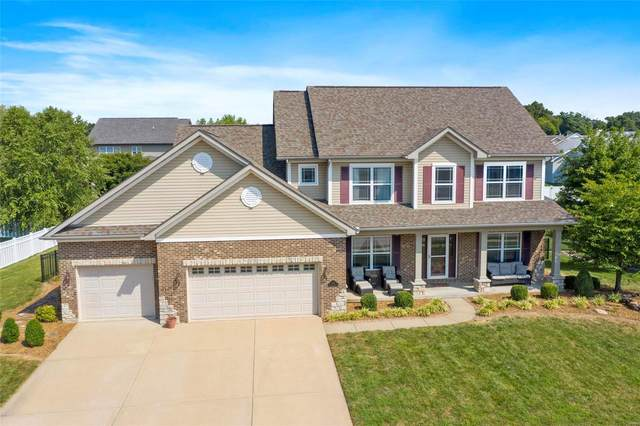 1128 Hightower Place Dr., O'Fallon, IL 62269 (#21059495) :: The Becky O'Neill Power Home Selling Team