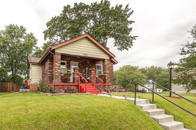 7192 Wellington Court, St Louis, MO 63143 (#21062625) :: Clarity Street Realty
