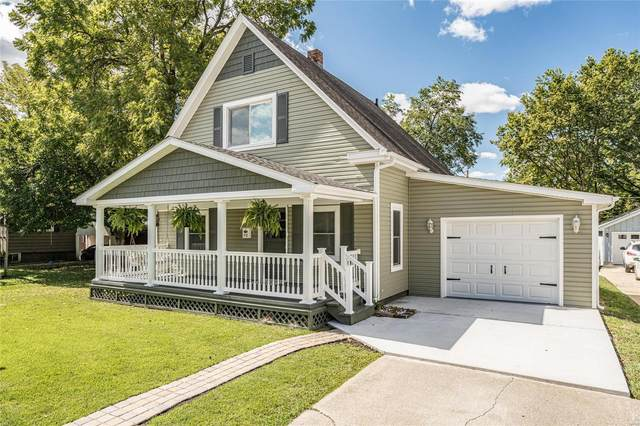 512 Jefferson, Hillsboro, IL 62049 (#21062716) :: Fusion Realty, LLC