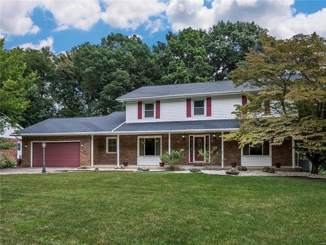 15 Ginger Bend, Glen Carbon, IL 62034 (#21063300) :: Blasingame Group | Keller Williams Marquee