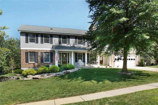 2004 Fairway Bend, Chesterfield, MO 63017 (#21063516) :: Parson Realty Group
