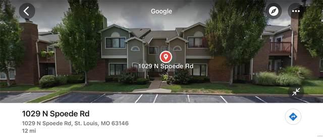 1029 N Spoede, St Louis, MO 63146 (#21063609) :: Jenna Davis Homes LLC