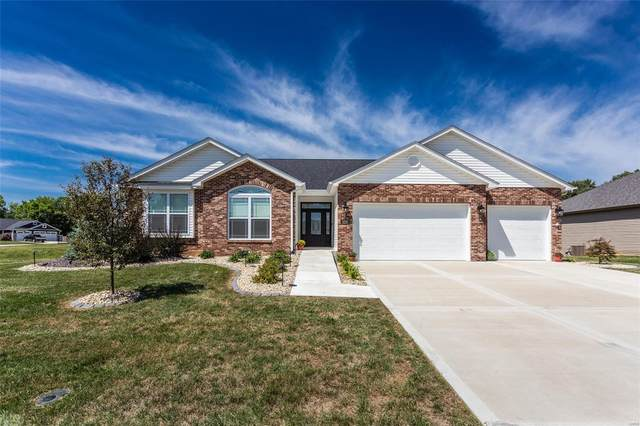 8374 Mill Hill Lane, Troy, IL 62294 (#21063827) :: St. Louis Finest Homes Realty Group