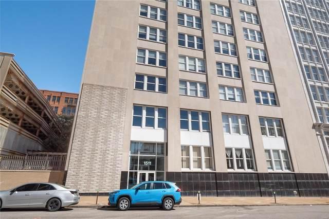 1511 Locust Street #707, St Louis, MO 63103 (#21063900) :: Mid Rivers Homes