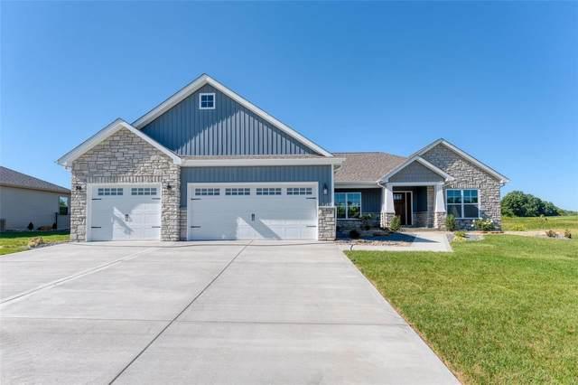 8928 Rock Creek Drive, Saint Jacob, IL 62281 (#21064314) :: St. Louis Finest Homes Realty Group